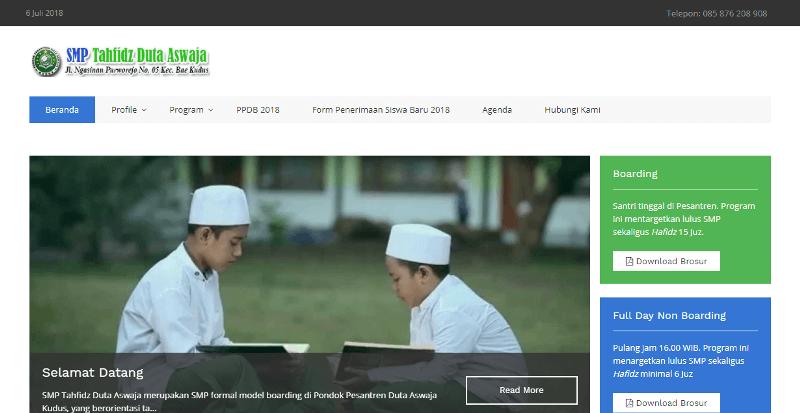 jasa website kudus